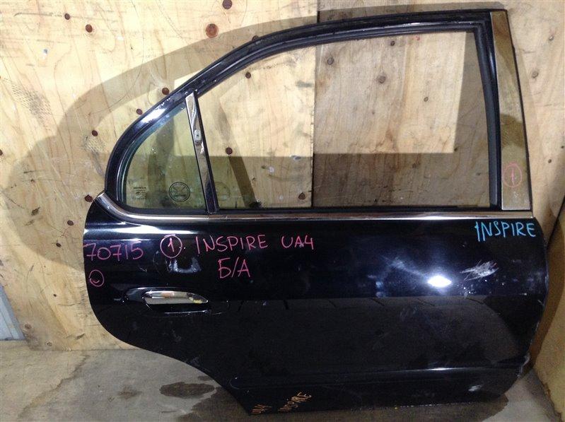 Дверь боковая Honda Inspire UA4 задняя правая 70715 (+29.04.20) Снят замок. Потертости (см. фото). (б/у)