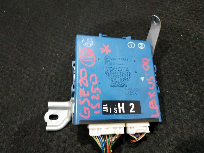 Блок управления светом Lexus Is250 GSE20 2009 11 ящик (б/у)
