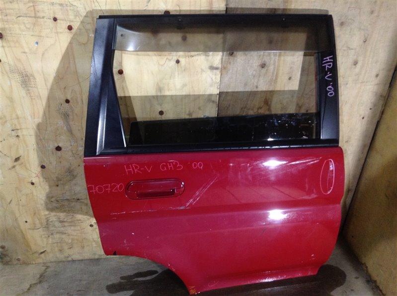 Дверь боковая Honda Hr-V GH3 2000 задняя правая 70720 (+29.04.20) Вмятина, потертости (см. фото). 1В (б/у)