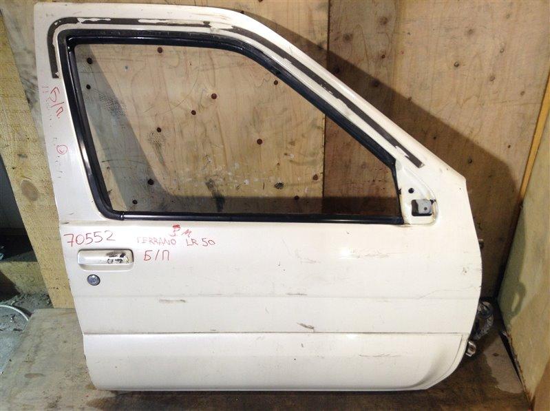 Дверь боковая Nissan Terrano LR50 передняя правая 70552 (+27.04.20) Снят стеклоподъемник. 1А Цена (б/у)