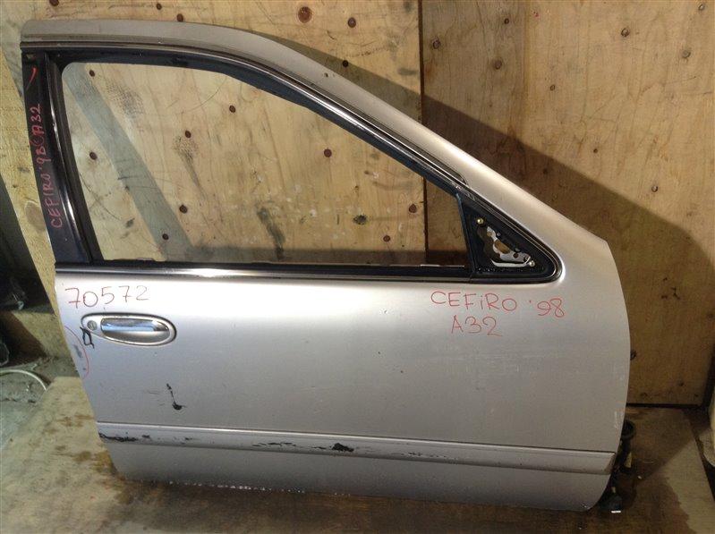 Дверь боковая Nissan Cefiro A32 1998 передняя правая 70572 (+27.04.20) Потертости (см. фото). 1А Цена (б/у)