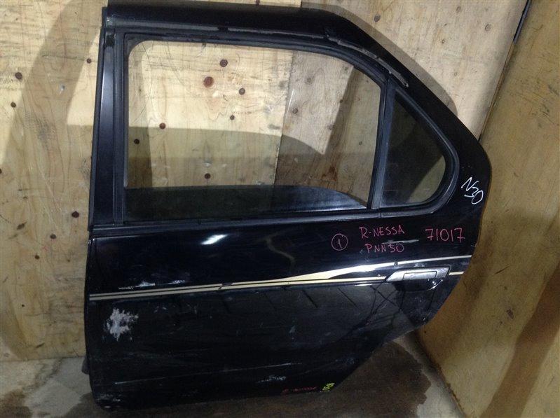 Дверь боковая Nissan R'nessa N30 задняя левая 71017 (+28.04.20) Есть потертости, вмятины (см. (б/у)