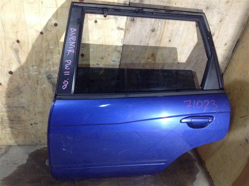 Дверь боковая Nissan Avenir PW11 2000 задняя левая 71023 (+28.04.20) Царапины, потертости (см. фото).  (б/у)