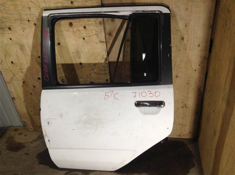 Дверь боковая Nissan Cube AZ10 2001 задняя левая 71030 (+28.04.20) Снято стекло. 24В (б/у)