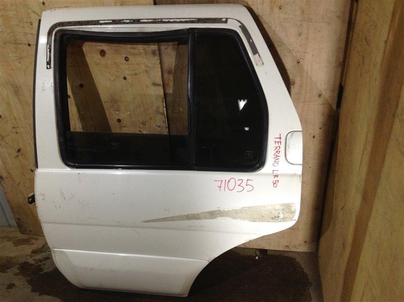 Дверь боковая Nissan Terrano LR50 задняя левая 71035 (+28.04.20) С петлями. 24В (б/у)