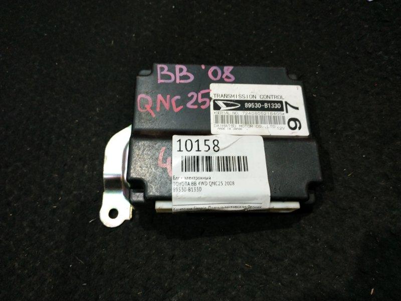 Блок электронный Toyota Bb QNC25 4WD 2008 15 ящик (б/у)