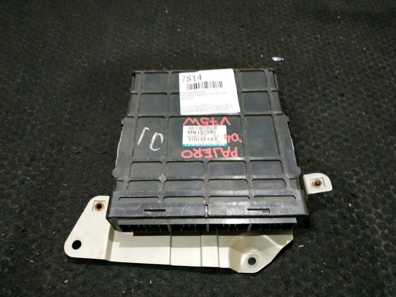 Блок управления двс Mitsubishi Pajero V75W 6G74 2004 MN132595 16 ящик (б/у)