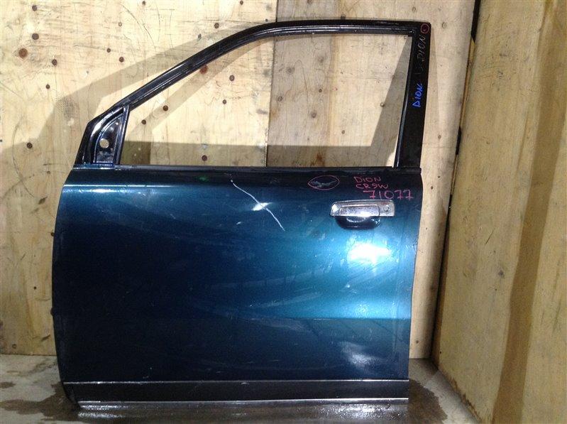 Дверь боковая Mitsubishi Dion CR9W 2000 передняя левая 71077 (+28.04.20) Есть вмятина и царапины (см. (б/у)