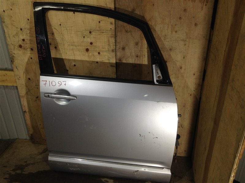 Дверь боковая Mitsubishi Delica D5 CV2W 4B12 2007 передняя правая 71097 (+28.04.20) 28В Цена указана за (б/у)