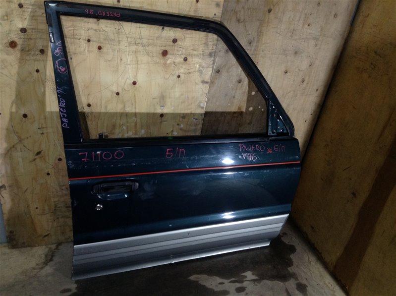 Дверь боковая Mitsubishi Pajero V43W 1996 передняя правая 71100 (+28.04.20) Снят стеклоподъемник. 28В (б/у)