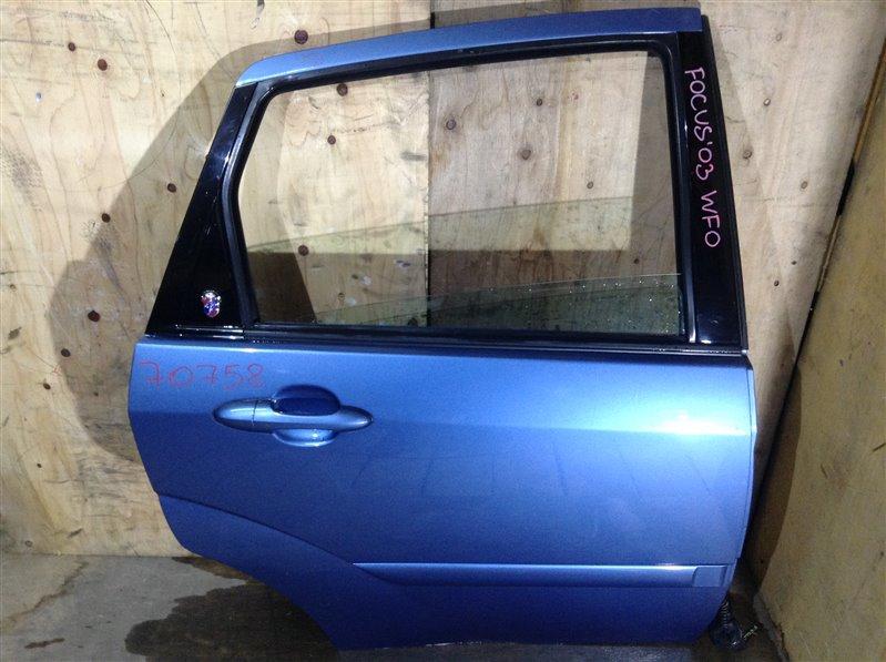 Дверь боковая Ford Focus DBW EDDB 2003 задняя правая 70758 (+29.04.20) 5В (б/у)