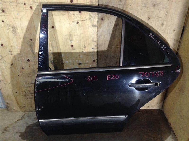 Дверь боковая Mercedes-Benz E-Class W210 1998 задняя левая 70768 (+29.04.20) Снят стеклоподъемник. (б/у)