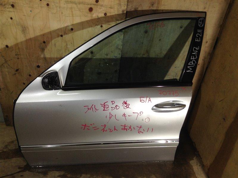 Дверь боковая Mercedes-Benz E-Class W211 передняя левая 70775 (+29.04.20) Снят замок. Небольшие (б/у)