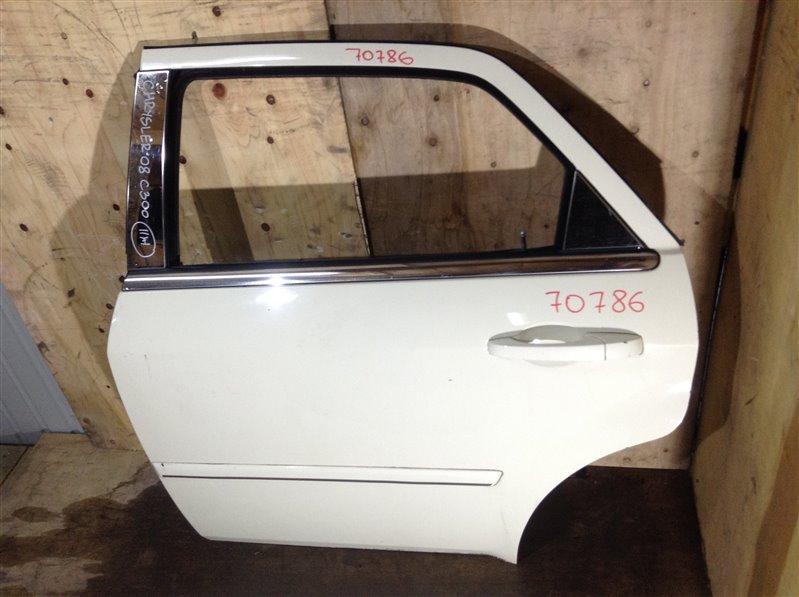 Дверь боковая Chrysler 300C 5H164043 2008 задняя левая 70786 (+29.04.20) Белая. 11Ж (б/у)