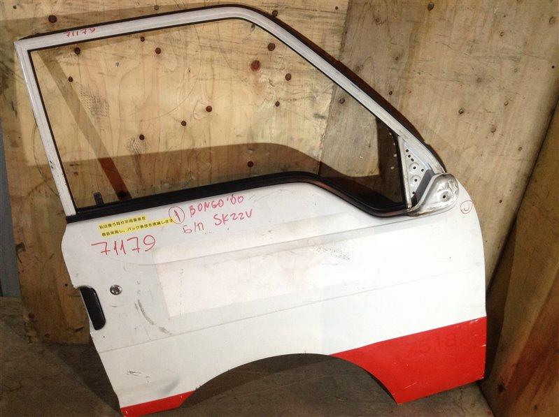 Дверь боковая Mazda Bongo SK82MN 2000 передняя правая 71179 (+29.04.20) Снят стеклоподъемник. 1С (б/у)