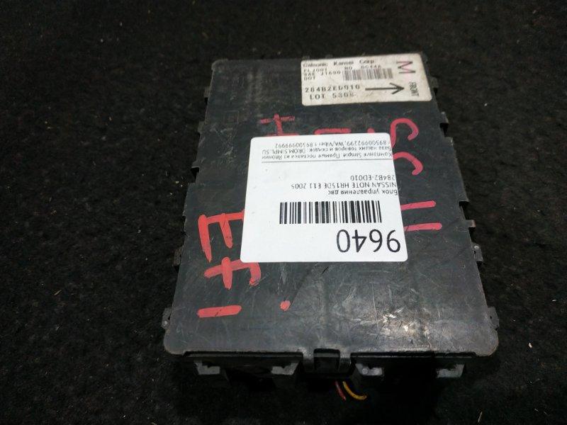 Блок электронный Nissan Note E11 HR15DE 2005 19 ящик (б/у)
