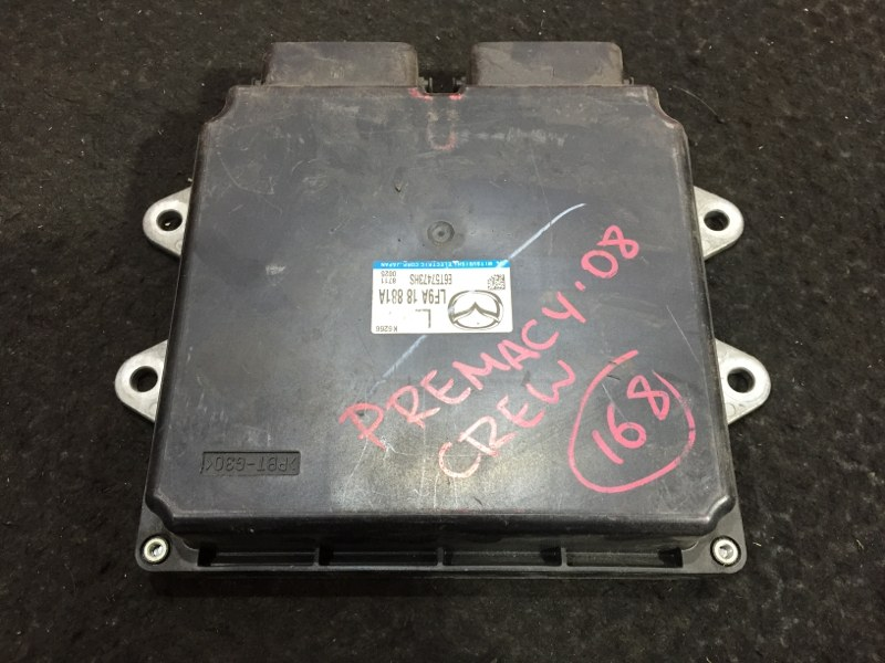 Блок управления двс Mazda Premacy CREW LF 2008 45 ящик. (б/у)