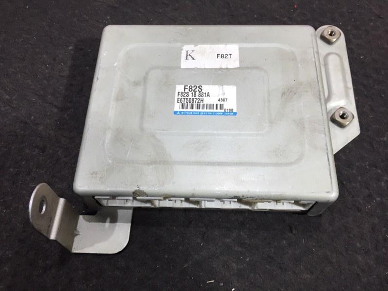 Блок управления двс Mazda Bongo Van SK82V F8 2004 F82S, F82S 18 881A, E6T50872H, 4807, 0188. 44 ящик (б/у)