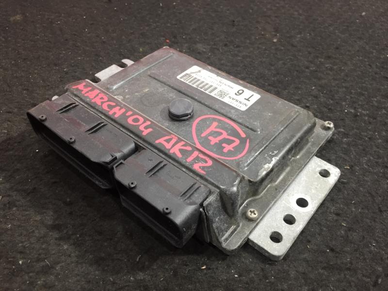 Блок управления двс Nissan March AK12 CR12DE 2004 A56-V01 T56 4328 6 ящик (б/у)