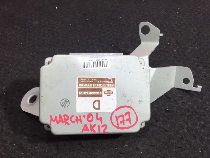 Блок управления акпп Nissan March AK12 CR12DE 2004 A64-000 T15 4413 6 ящик (б/у)