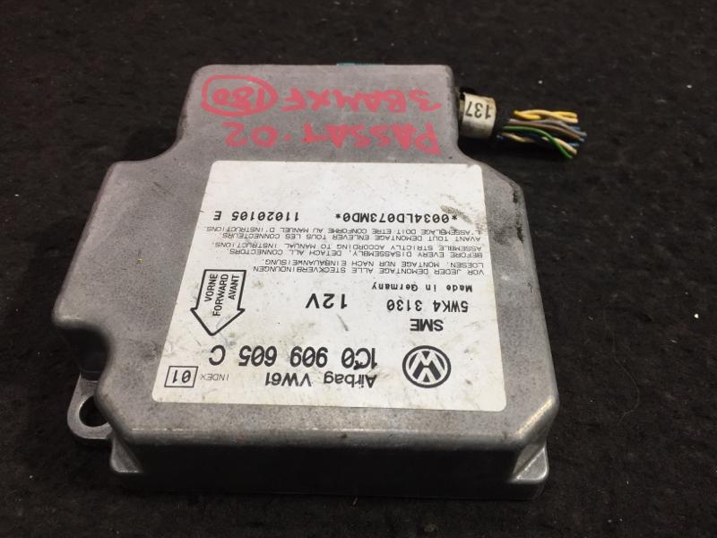 Блок управления airbag Volkswagen Passat 3B6 AMX 2002 11 ящик (б/у)