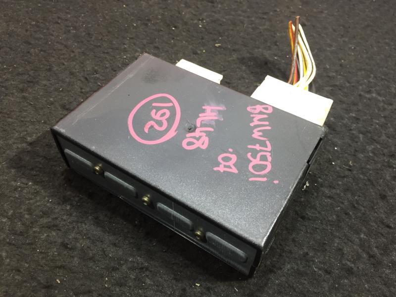 Блок управления подвеской Bmw 7-Series E65 N62B48B 2007 11 ящик (б/у)