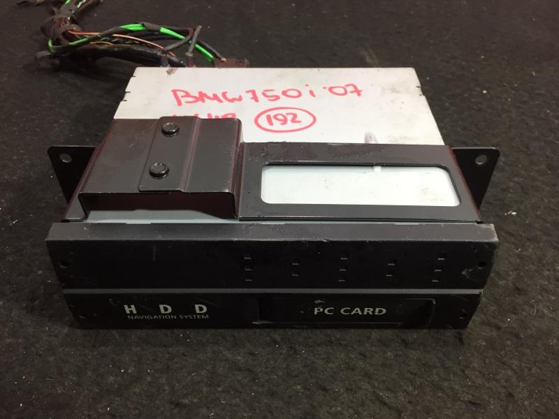 Блок управления навигацией Bmw 7-Series E65 N62B48B 2007 65906979959, 90606979959 11 ящик (б/у)