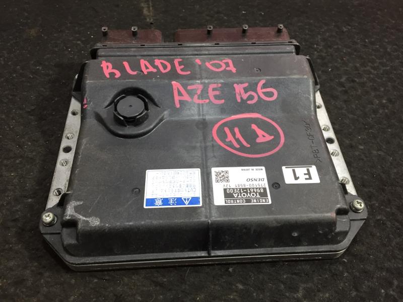 Блок управления двс Toyota Blade AZE156 2AZ 2007 43 ящик (б/у)