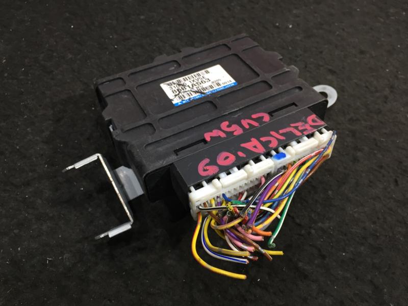 Блок управления акпп Mitsubishi Delica CV5W 4B12 2009 8631A663, 31036 1XV5E 7 ящик (б/у)