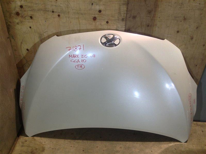 Капот Toyota Mark X Zio ANA10 2008 71871 (+26.05.20) (б/у)