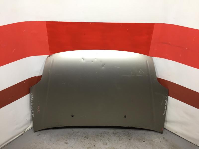 Капот Honda Stream RN1 2001 Небольшие вмятины (см. фото). (б/у)