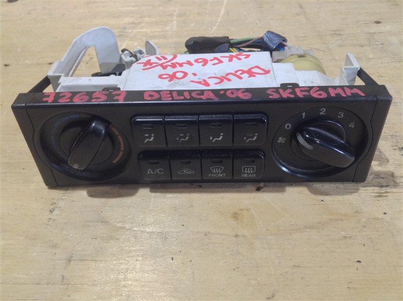 Блок управления климат-контролем Mitsubishi Delica SKE6VM RF 2006 72657 (б/у)
