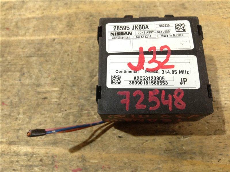 Блок управления дверями Nissan Teana J32 VQ25DE 2008 72548, 28595-JK00A, A2C53123809, 38090181560553 (б/у)