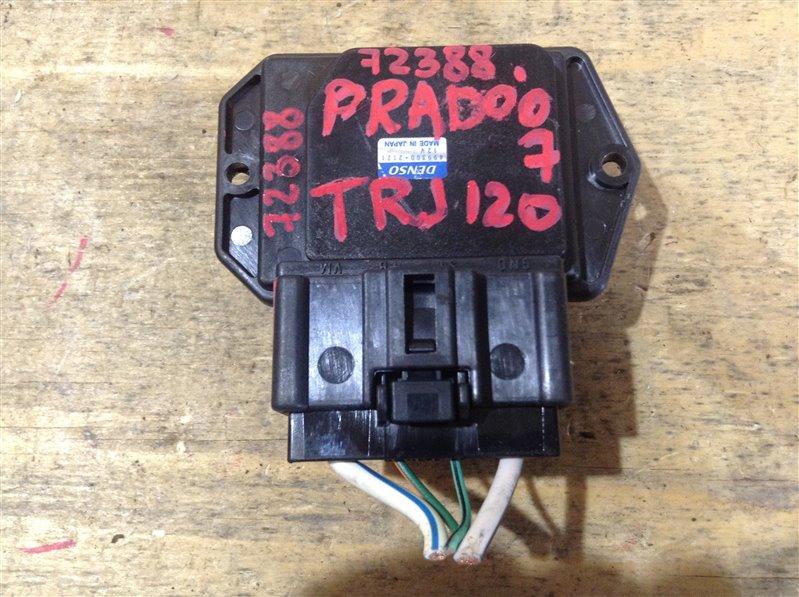 Реостат печки Toyota Land Cruiser Prado TRJ120 2TR 2007 72388, 499300-2121 (б/у)