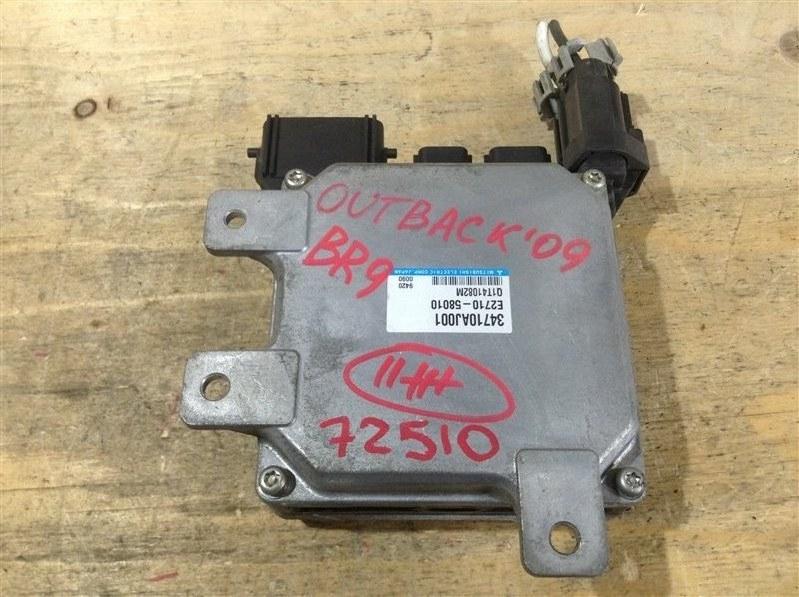 Блок управления рулевой рейкой Subaru Outback BR9 EJ25 2009 72510, 34710AJ000, E2710-58010 (б/у)