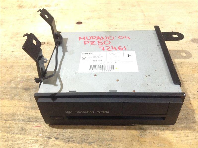 Блок управления навигацией Nissan Murano PZ50 VQ35DE 2004 72461, 25915CB000, QX-5730N, A02-0120JP (б/у)