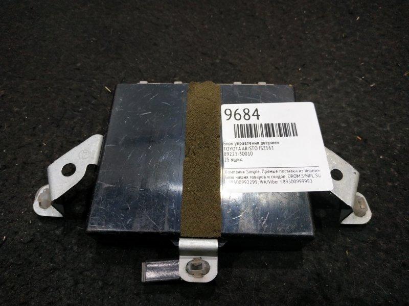 Блок управления дверями Toyota Aristo JSZ161 25 ящик (б/у)