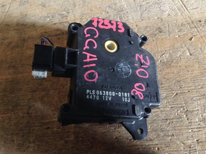 Мотор заслонки печки Toyota Mark X Zio GGA10 2GR 2008 72573, 063800-0181 (б/у)