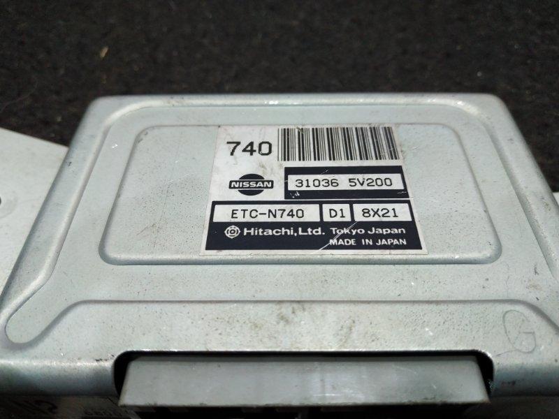 Блок электронный Nissan R'nessa PNN30 31036-5V200 / ETC-N740 D1 25 ящик (б/у)