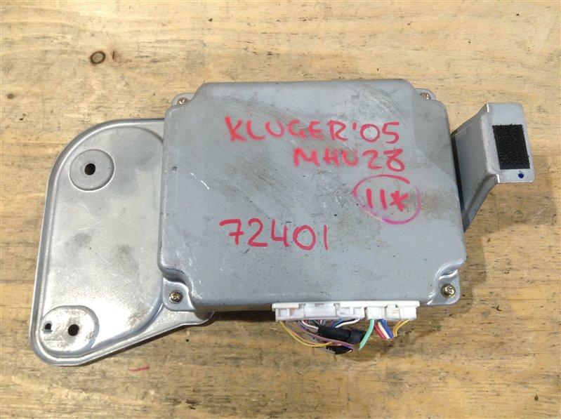 Блок управления парктроником Toyota Kluger MHU28 3MZ 2005 72401, 86792-48070, 516110-11410 (б/у)