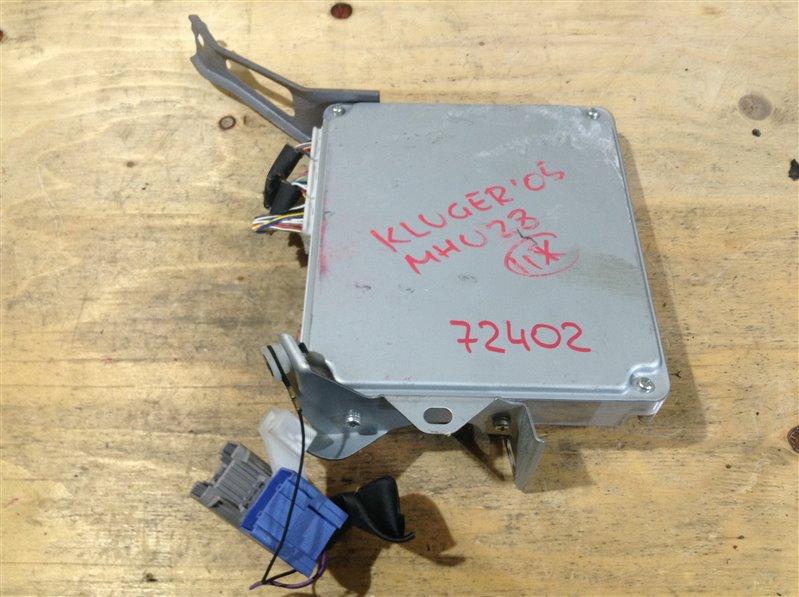 Блок управления двс Toyota Kluger MHU28 3MZ 2005 72402, 89981-48120, 275200-0114 (б/у)