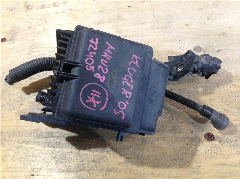 Блок предохранителей Toyota Kluger MHU28 3MZ 2005 72405 (б/у)