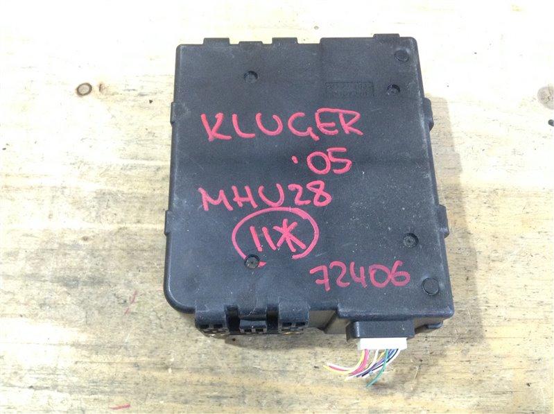 Блок управления Toyota Kluger MHU28 3MZ 2005 72406, 89680-48010 Блок управления тормозной (б/у)