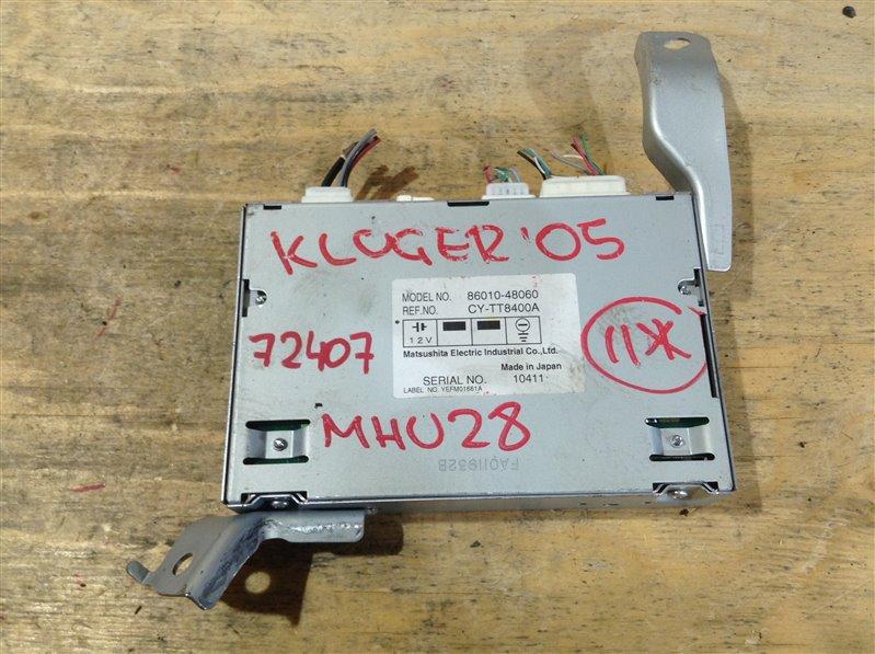 Блок электронный Toyota Kluger MHU28 3MZ 2005 72407, 86010-48060, CY-TT8400A (б/у)