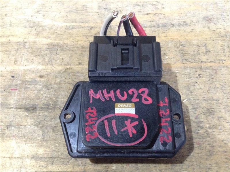 Реостат печки Toyota Kluger MHU28 3MZ 2005 72422, 499300-2110 (б/у)