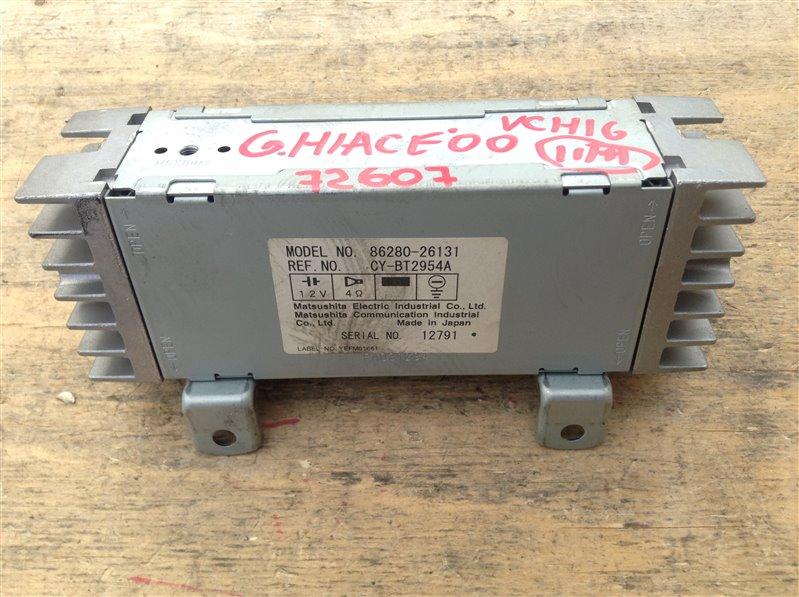 Усилитель магнитолы Toyota Grand Hiace VCH16 5VZ 2000 72607, 86280-26131, CY-BT2954A (б/у)