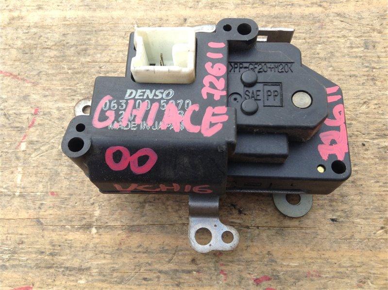 Мотор заслонки печки Toyota Grand Hiace VCH16 5VZ 2000 72611, 063700-5070 (б/у)