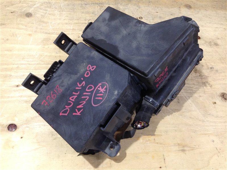 Блок предохранителей Nissan Dualis KNJ10 MR20DE 2008 72618, 24383-JD00A, 319136024 (б/у)