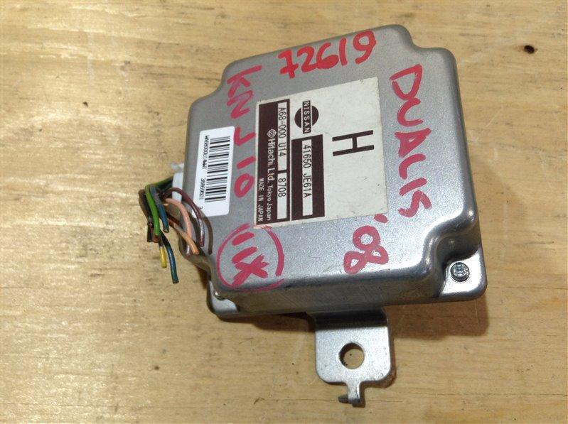 Блок управления раздаткой Nissan Dualis KNJ10 MR20DE 2008 72619, 41650-JE61A, A68-000 U14 8708 Блок (б/у)