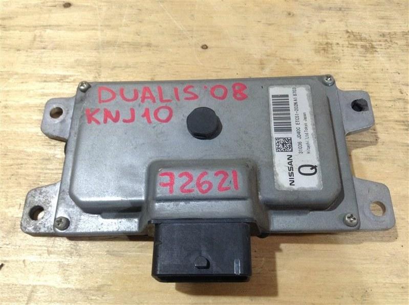 Блок управления акпп Nissan Dualis KNJ10 MR20DE 2008 72621, 31036-JD40C, ETC51-202N A1 8703 (б/у)